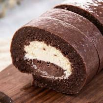 【樸園嚴選】非麵粉無麩質巧克力蛋糕捲