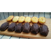 【樸園嚴選】非麵粉無麩質瑪德蓮小蛋糕(巧克力口味)